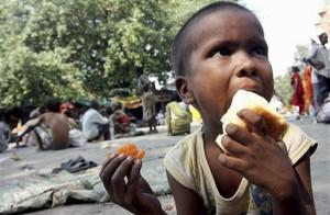 صورة تجسد الفقر بإحدى الدول ، التقطت من طرف صحفية بإفريقيا